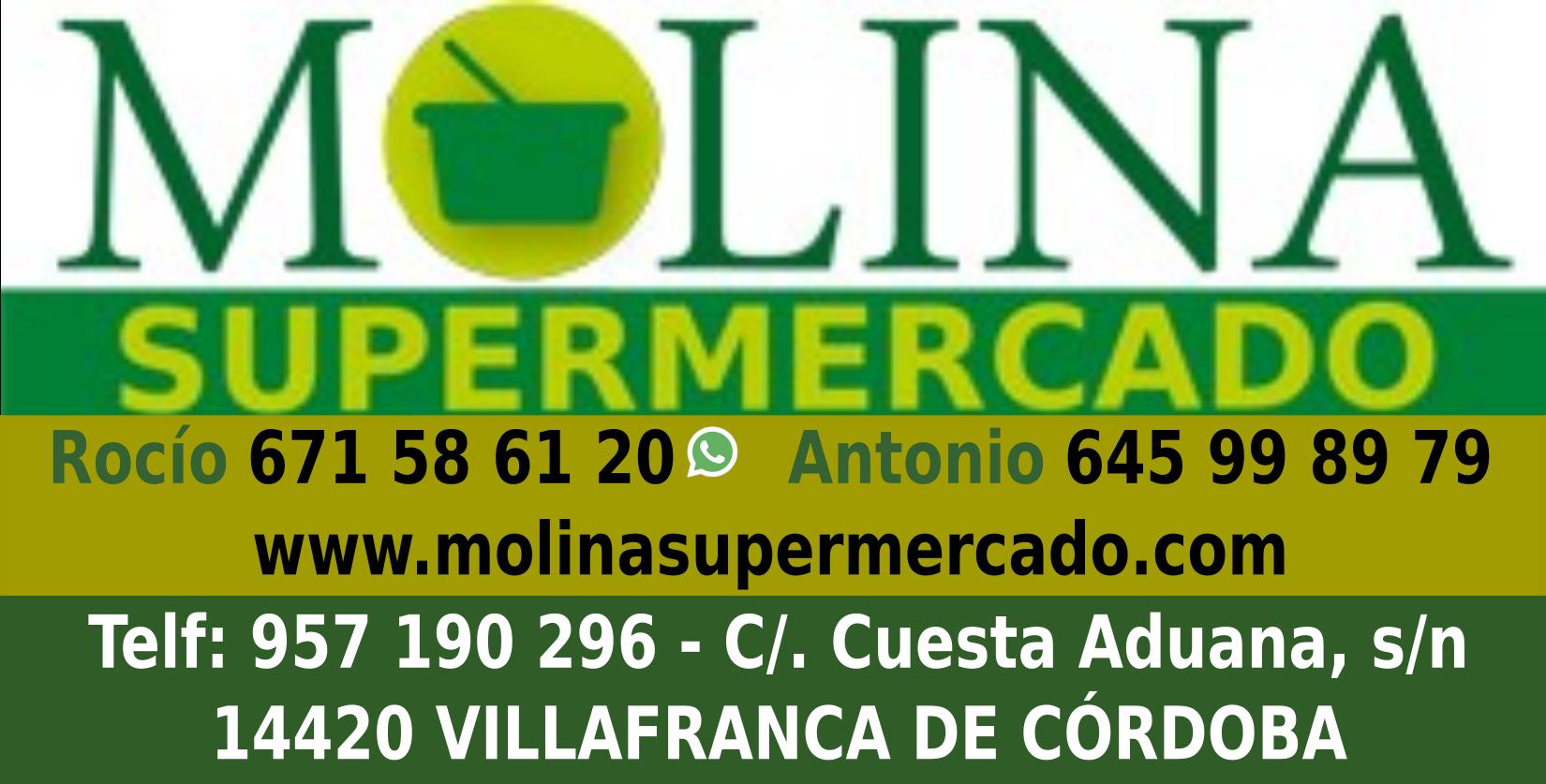 Supermercado Molina - La mejor relación calidad/precio en alimentación de Villafranca de Córdoba